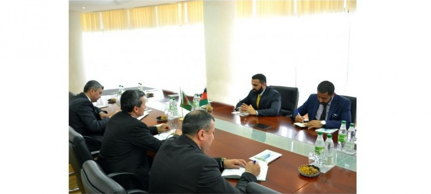 AMBASSADOR OF AFGHANISTAN COMPLETES HIS DIPLOMATIC MISSION IN TURKMENISTAN
