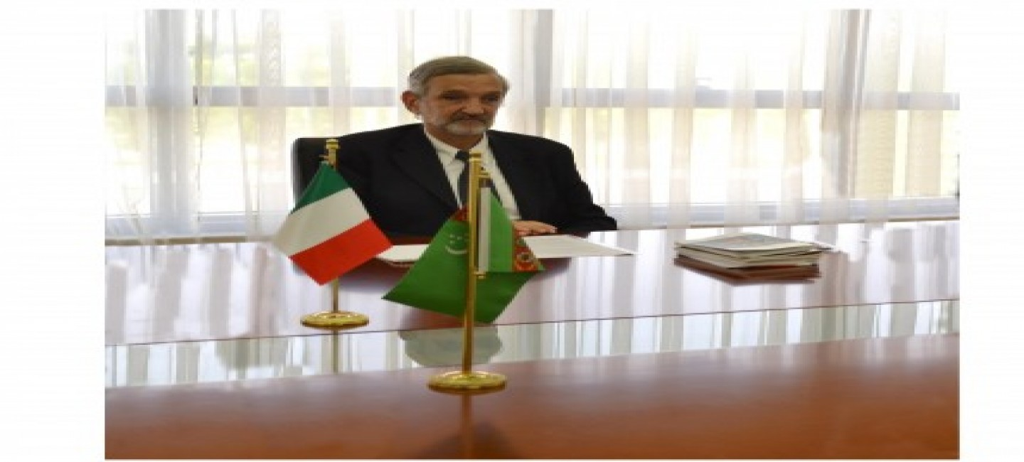 The Ambassador of the Italian Republic concludes his diplomatic mission in Turkmenistan