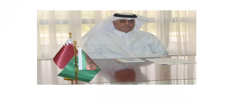 Встреча с Послом Государства Катар в Туркменистане завершающим миссию в стране