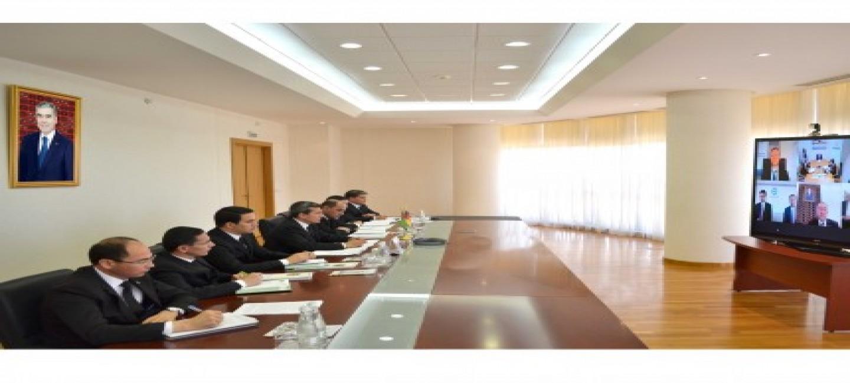 Представители Туркменистана и Восточного Комитета Германской экономики обсудили приоритеты двустороннего сотрудничества