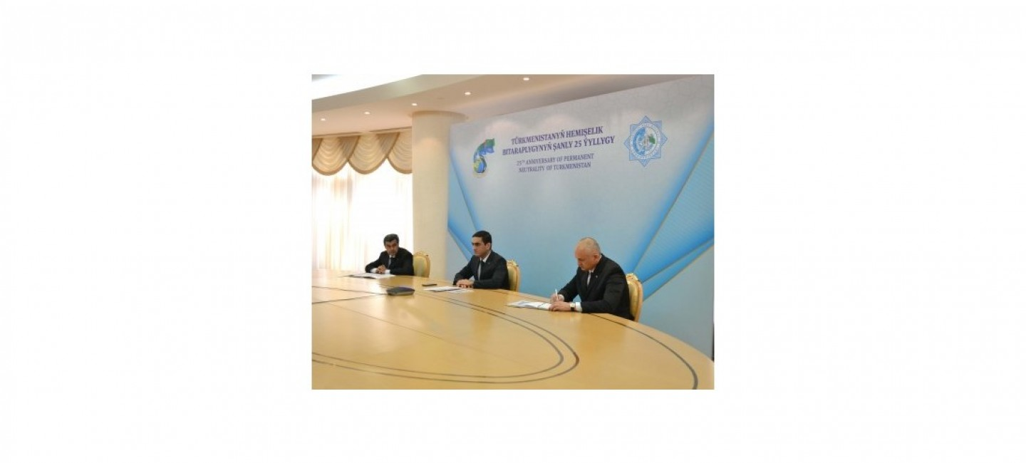 "Diplomatic online courses on the topic ""Neutrality of Turkmenistan - for the sake of peace, stability and sustainable development"" have completed their work"