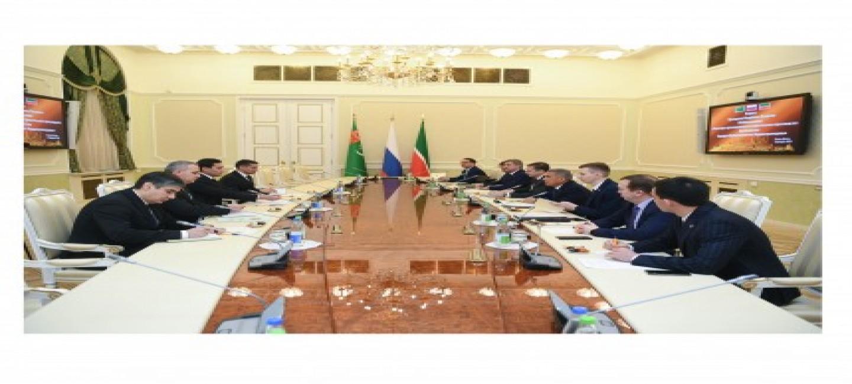 Визит Министра промышленности и строительного производства Туркменистана в Республику Татарстан Российской Федерации