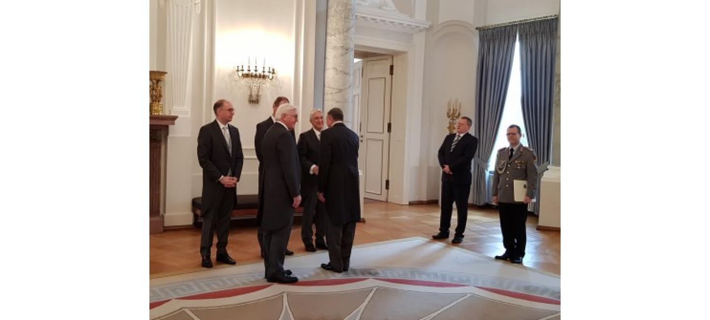 Посол Туркменистана вручил верительные грамоты Президенту ФРГ