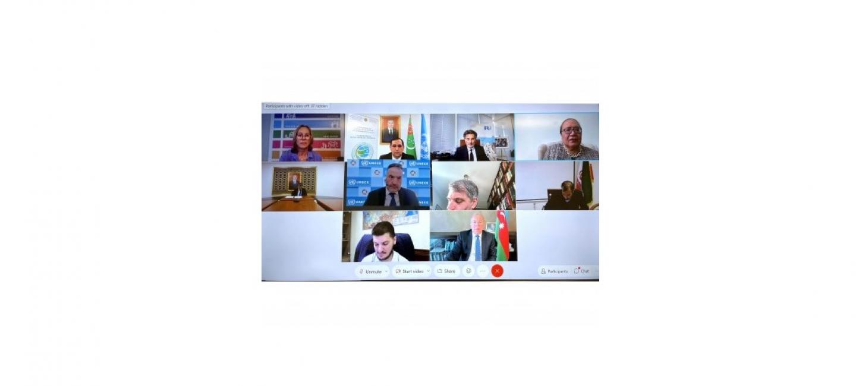 Мероприятие, посвященное Международному году мира и доверия 2021 года на тему «Устойчивость транспортных и торговых связей в регионе Каспийского моря в период пандемии»