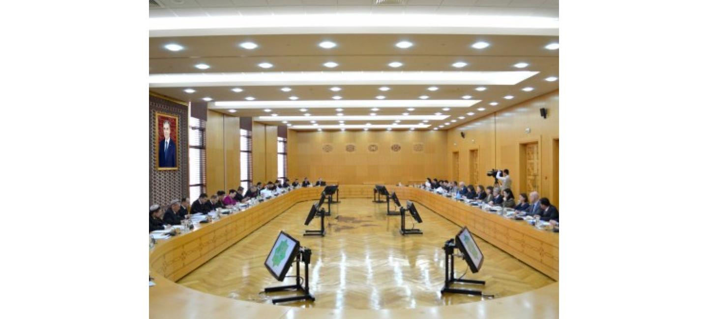 В МИД состоялось заседание Межведомственной комиссии по выполнению международных обязательств Туркменистана
