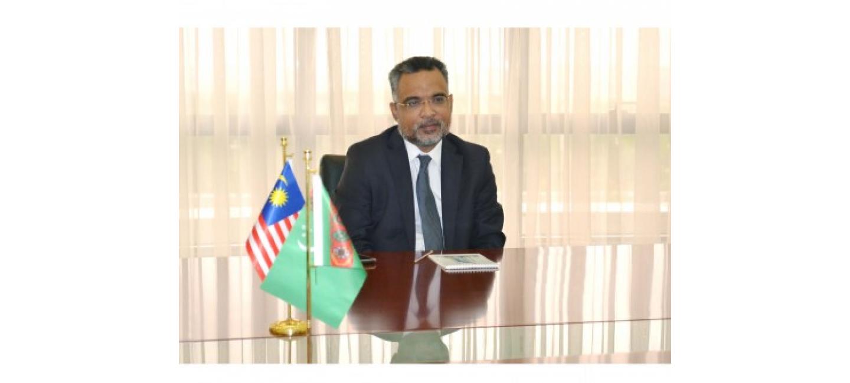 Встреча с Чрезвычайным и Полномочным Послом Малайзии в Туркменистане