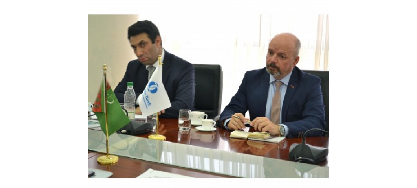 TURKMENISTAN AND EBRD COMMITTED TO STRENGTHEN MULTIFACETED COLLABORATION