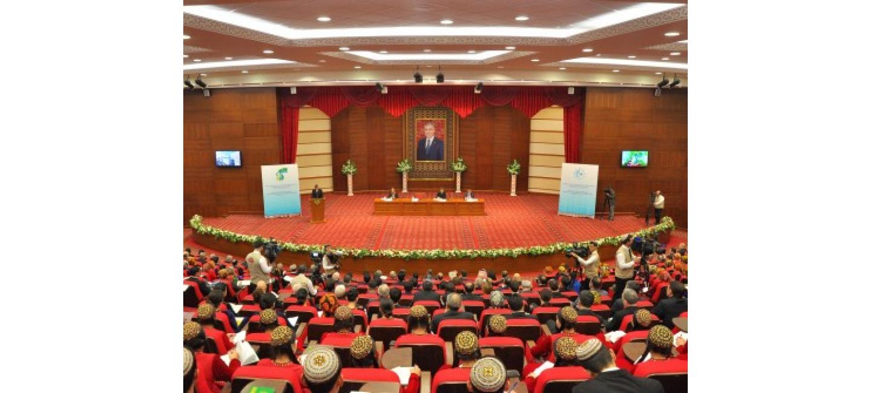 Состоялась научно-практическая конференция, посвященная 25-летию постоянного Нейтралитета Туркменистана и ко Дню дипломатических работников Туркменистана
