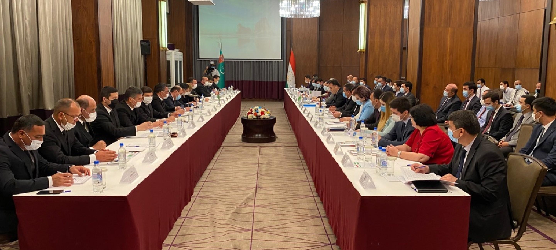 Ключевые вопросы сотрудничества обсуждены на заседании Совместной туркмено-таджикской комиссии в Душанбе